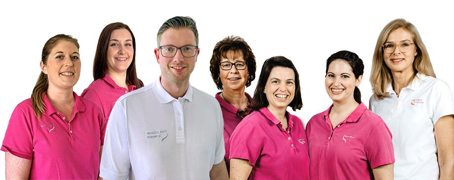 Das Team der Hautarztpraxis Gönner